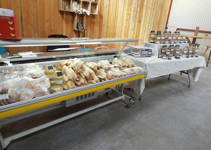 Ferme des Aubépins, producteur de volailles à Neuillé-Pont-Pierre